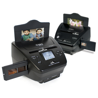Photo and negative scanners